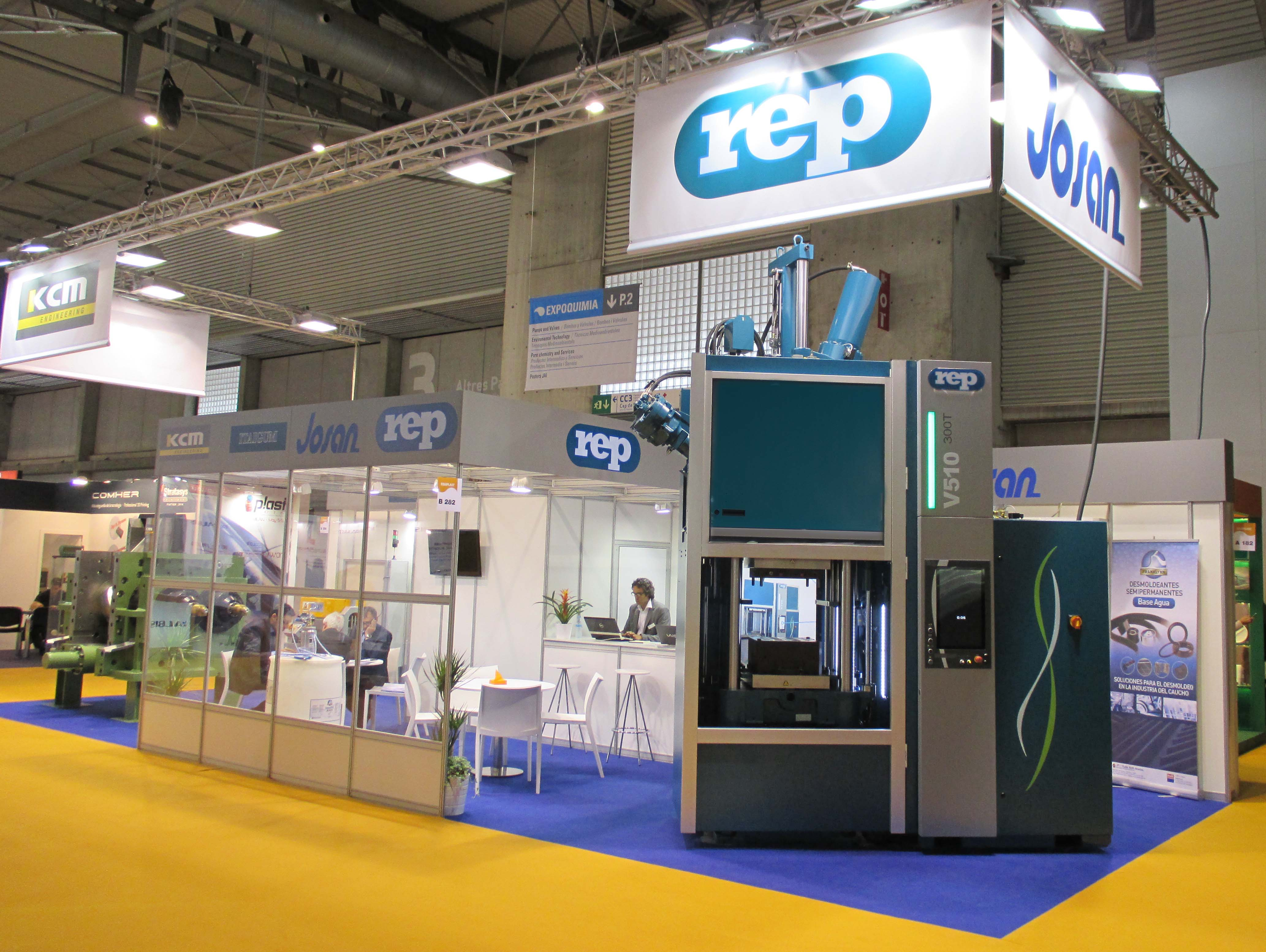 REP Stand Equiplast Barcelona 2014